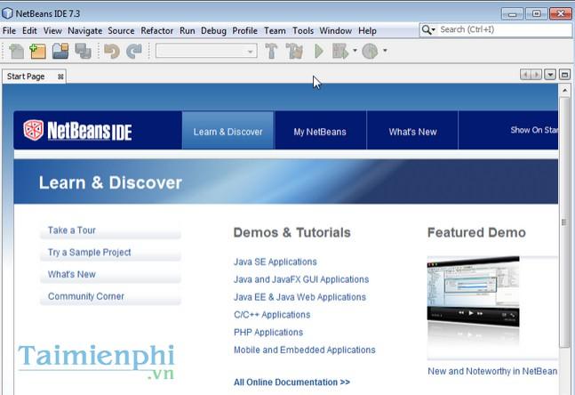 download NetBean IDE