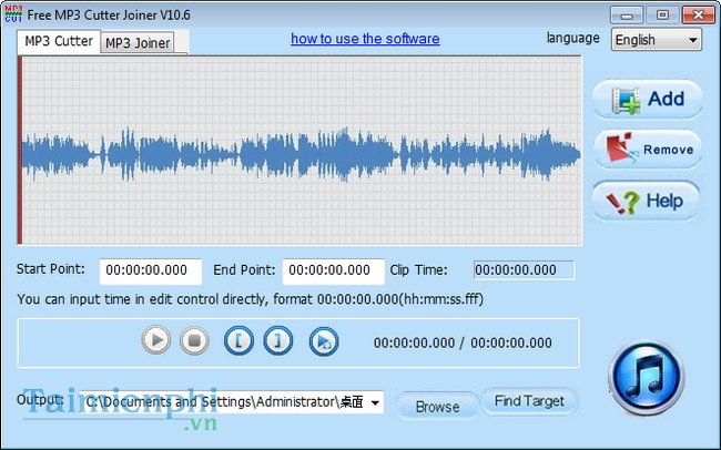 download Free MP3 Cutter Joiner