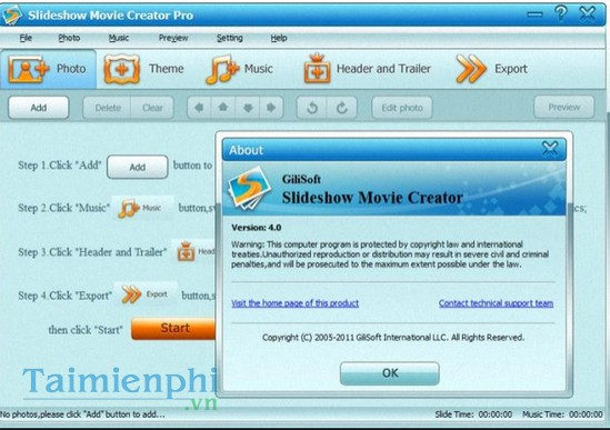 download Slideshow Movie Creator