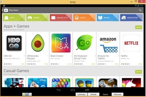 download andy for mac