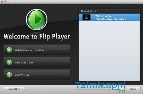 download flip player for mac