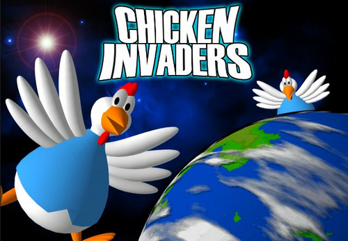download chicken invaders, game ban ga