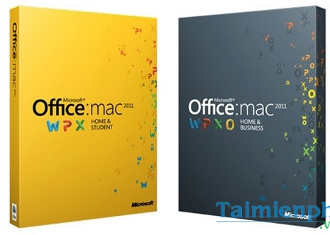 office 2011 cho mac