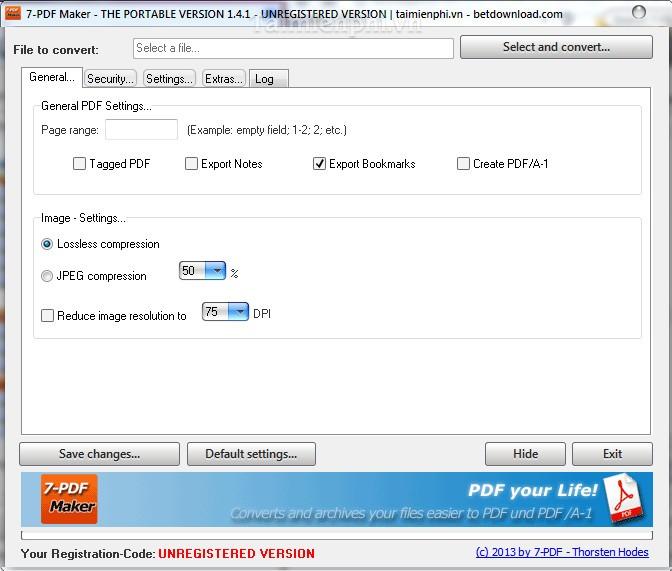 7 PDF Maker Portable