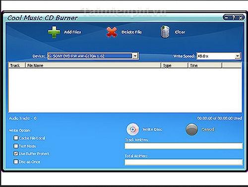 Cool Music CD Burner
