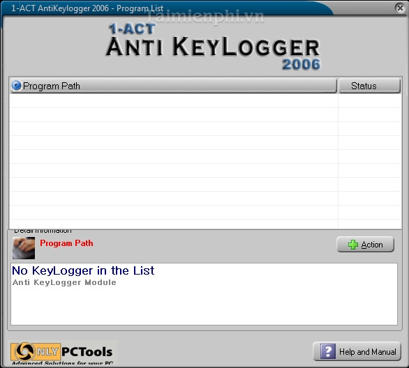 1ACT AntiKeylogger