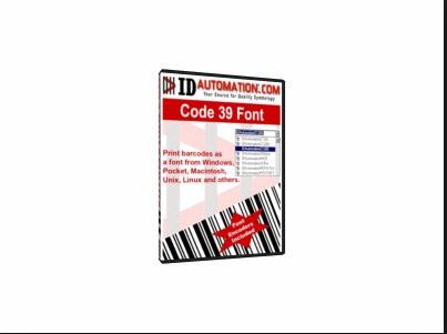 Free TrueType Code 39 Barcode Font