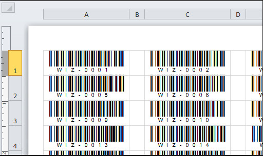 BarCodeWiz Code 128 Barcode Fonts