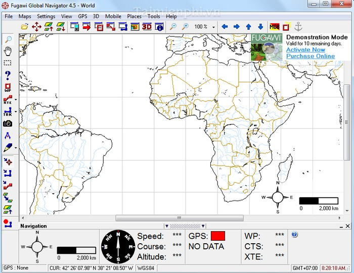 Fugawi GPS Mapping Software