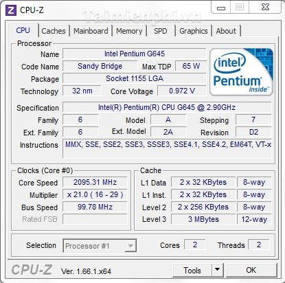 CPU Z 32bit