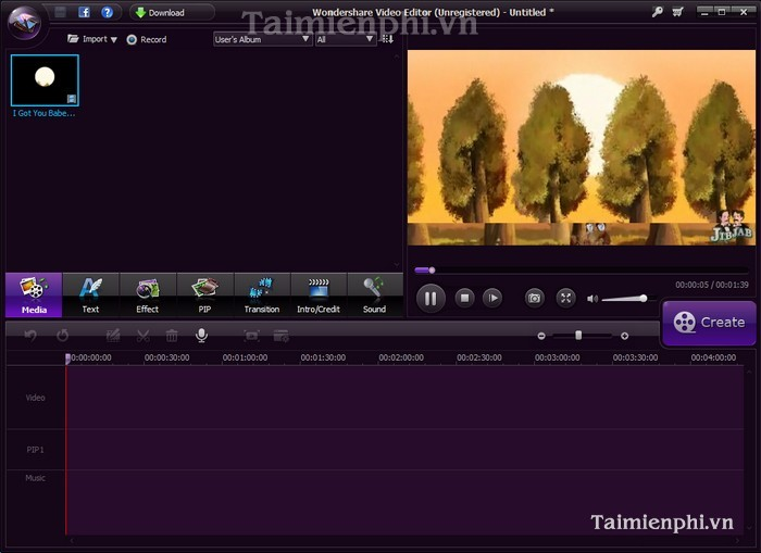 download Wondershare Video Editor