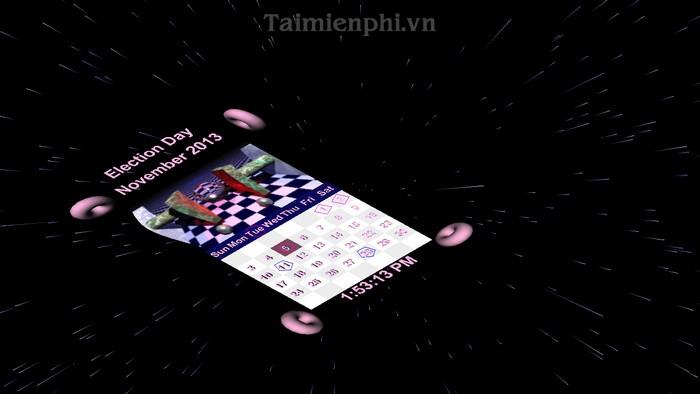 Clock Calendar 3D