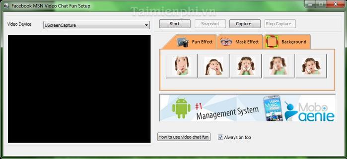 Free Facebook MSN Video Chat Fun