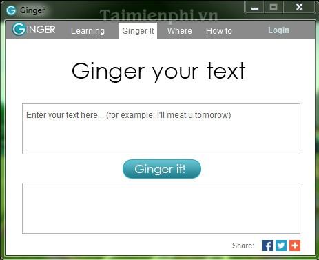 Ginger Grammar and Spell Checker