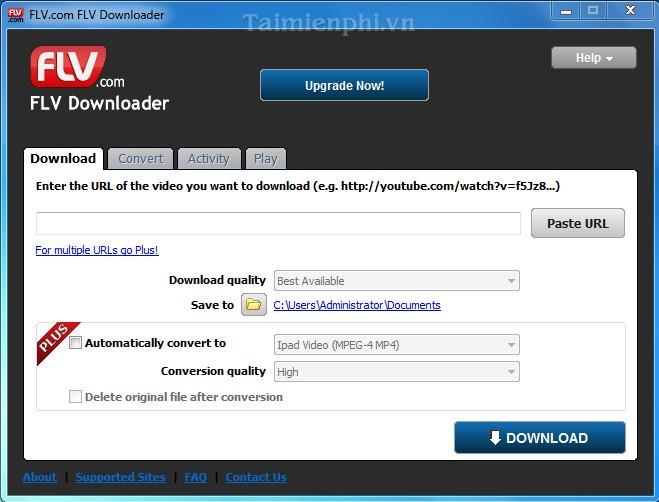 FLV com FLV Downloader