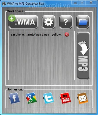 WMA to MP3 Converter Box