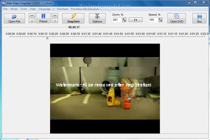 Able Video Snapshot