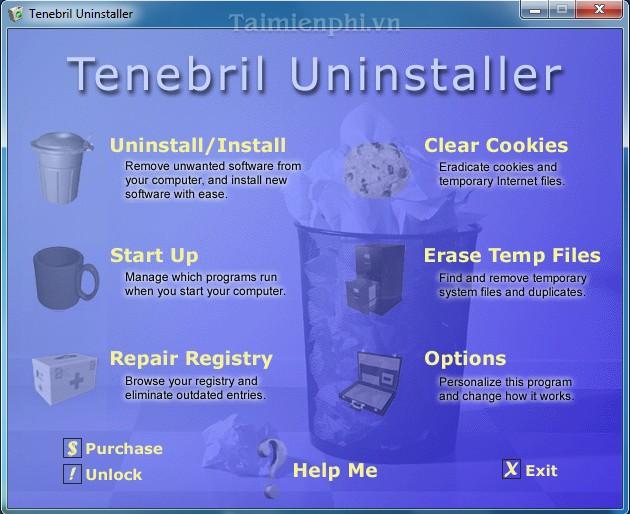 Tenebril Uninstaller
