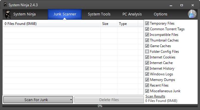 System Ninja 2.4.3 Download