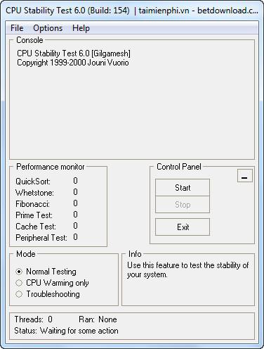 CPU Stability Test