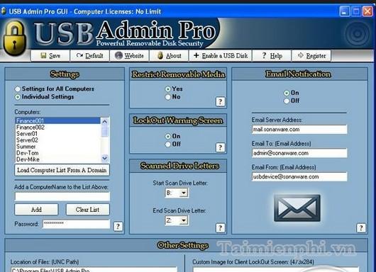 USB Admin Pro