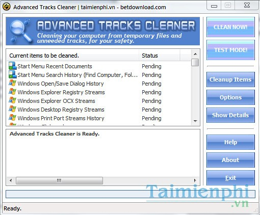 Advanced Tracks Cleaner